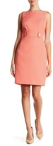 Tahari Jacquard Sheath Dress (Petite)