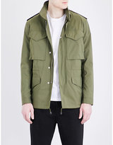 Sandro Stand collar shell field jacket