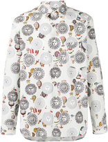 Comme des Garcons x Fornasetti sun print shirt - men - Cotton - S