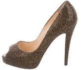 Christian Louboutin Strass Very Prive Pumps