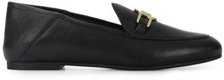 MICHAEL Michael Kors Logo-Plaque Low-Heel Loafers