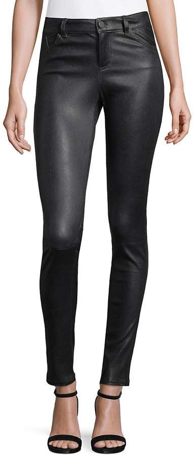 Alice + Olivia Women's Angie Leather Pants