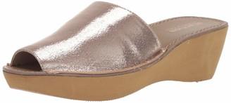 Kenneth Cole Reaction Women's Shine Dance Platform Slide Sandal Sandal