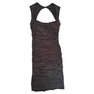 Nicole Miller Metallic Viscose Dresses