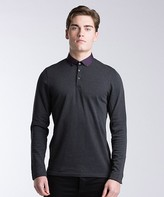 Ted Baker Longlit Long Sleeve Polo Shirt