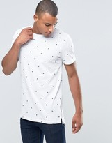 Jack and Jones T-Shirt with All Over Print