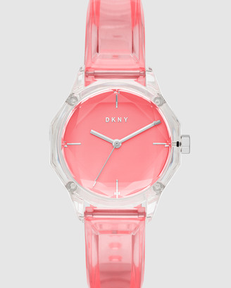 DKNY Round Cityspire Pink Analogue Watch
