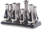 Torre & Tagus Multi Tube Rectangular Ceramic Urn Vase