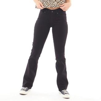 Levi's Womens 715 Bootcut Jeans Black Sheep