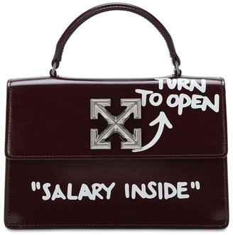 Off-White Jitney 1.4 Printed Leather Bag