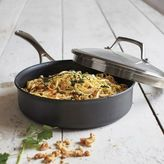 Sur La Table Dishwasher-Safe Hard-Anodized Nonstick Sauté Pan, 3 qt.