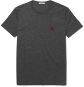 Burberry Slim-fit Cotton-jersey T-shirt - Dark gray