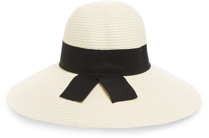 d401ddab008fc Wide Brim Floppy Straw Hat - ShopStyle