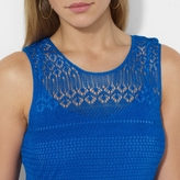 Ralph Lauren Pointelle-Knit Linen Dress