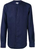 Aspesi band collar shirt - men - Linen/Flax - 40