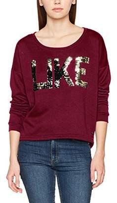 Vero Moda Women's Vmdidde Ls Campus Sweat SWT Sweatshirt,(Size: Medium)