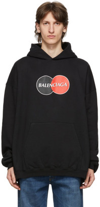 Balenciaga Black Uniform Hoodie