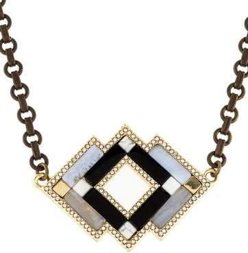 Lulu Frost Geometric Necklace