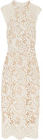 Rebecca Vallance The Society Guipure Lace Dress - White