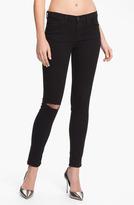J Brand Skinny Stretch Ankle Jeans (Shadow Destruct)