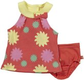 Magnificent Baby 'Jenna' Sundress & Bloomer Set (Baby) - Orange-18 Months
