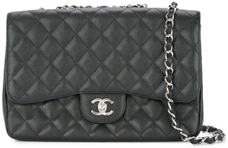 Chanel Pre-Owned 2009-2010 double chain flap bag