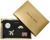 MICHAEL Michael Kors Sticker Bar Extra Large Zip Clutch Set