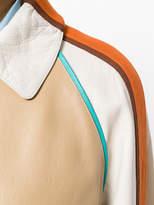 Marni leather trench coat