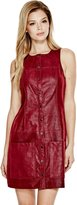 GUESS Tamara Faux-Leather Dress