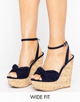 Asos TRAFFIC JAM Wide Fit Wedges