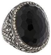 Sevan Biçakci Onyx & Diamond Ring