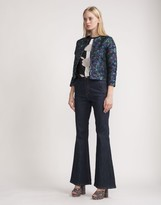 Cynthia Rowley Cropped Brocade Jacket