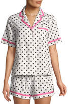 Kate Spade Cocktails Shorty Pajama Set
