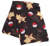 Pokemon Adult Female Pikachu & Pokeballs Scarf