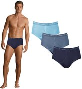 Jockey 21000183 Classic Y Front 3 Pack - Navy/Ind/Azure - 44""