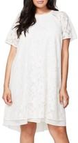 Rachel Roy Plus Size Women's A-Line Lace Dress