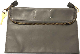 Maison Margiela Grey Leather Small bags, wallets & cases