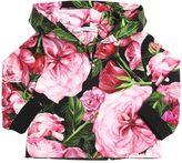 Dolce & Gabbana Rose Print Cotton Sweatshirt