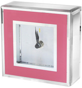 "Jay Import 4.6"" Pink Clock"