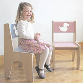 Kids Creative Personalised Wooden Children's Chair