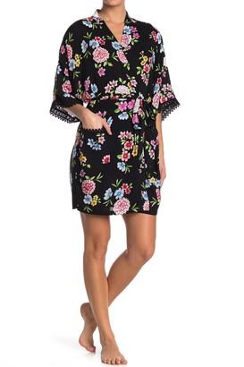 Kensie Floral Print Robe