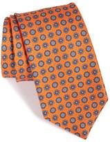 Brioni Men's Medallion Silk Tie