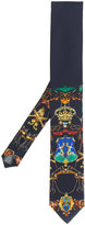 Dolce & Gabbana crest print tie