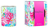 Lilly Pulitzer Coral Cay So Juicy Citrus Scented Glass Candle
