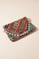 Anthropologie Banjara Embroidered Clutch