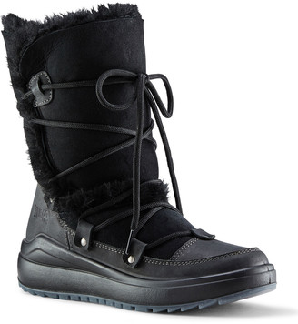 Cougar Tacoma Mixed-Leather Shearling Mid-Calf Winter Boots