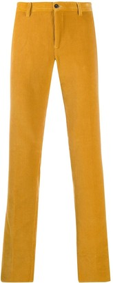Etro Corduroy Straight-Leg Trousers
