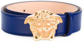 Versace Medusa head buckle belt - women - Calf Leather - 80