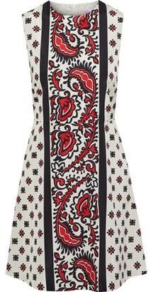 RED Valentino Printed Shell Mini Dress
