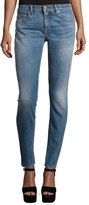 Roberto Cavalli Five-Pocket Skinny Jeans, Washed Indigo